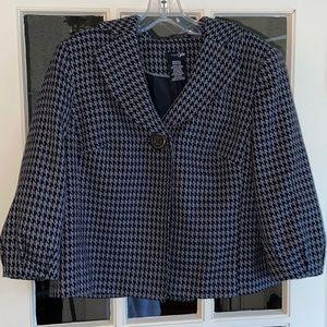 East 5th Short Button Dress Blazer Jacket